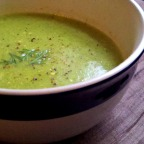 Herbed Zucchini Soup.