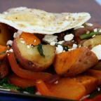 Sweet Pepper & Feta Hash.