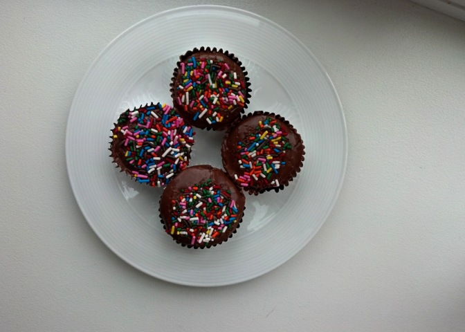 Skinny Chocolate Cupcakes