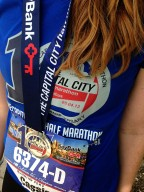 Capital City Half Marathon 2013.