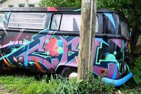 Interesting van...
