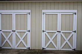 Love our neighbor's garage doors