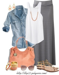 Great outfit for summer - I love that it'd keep me comfortable inside of a cool restaurant.