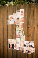 A great addition to any birthday party. Photos in the shape of the age! So creative.