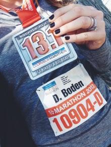 Third Half Marathon - Whoo Hoo!